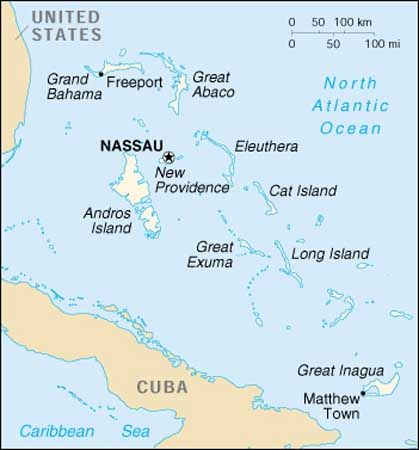 Click Here For A Map Of The Bahamas